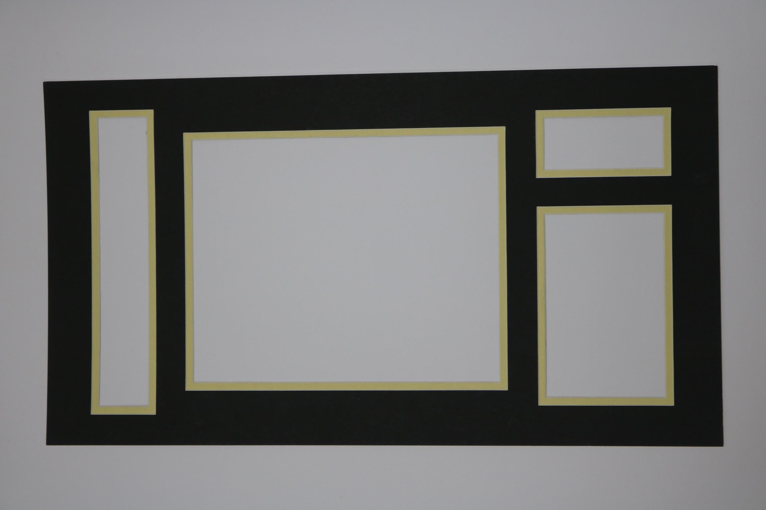 双层多孔相框内衬纸